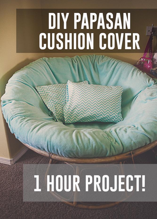 Diy Papasan Cushion Cover