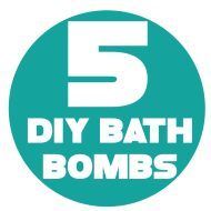 5 DIY Bath Bomb Recipes
