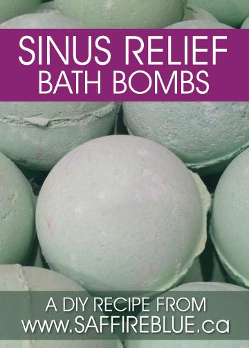 sinus relief DIY
