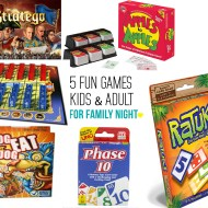 5 Fun Games for Family Game Night!