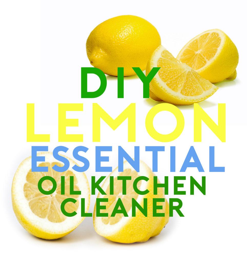 Lemon Essential Oil Cleaner