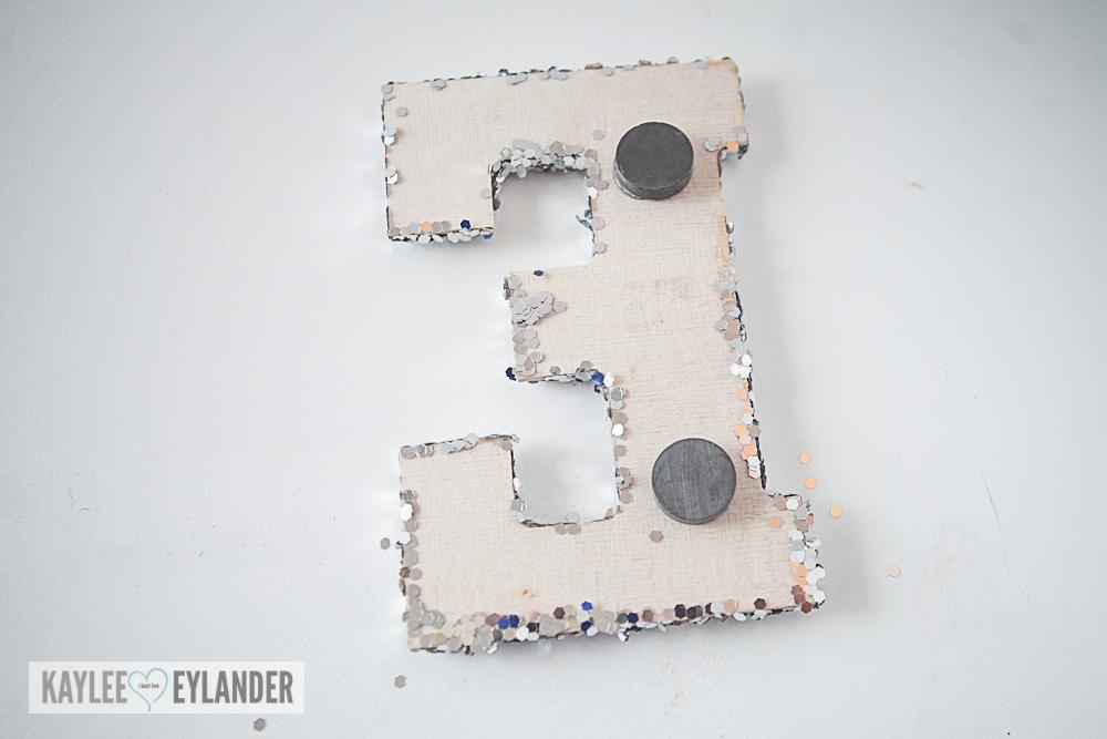 Glitter Monogram Magnets-10