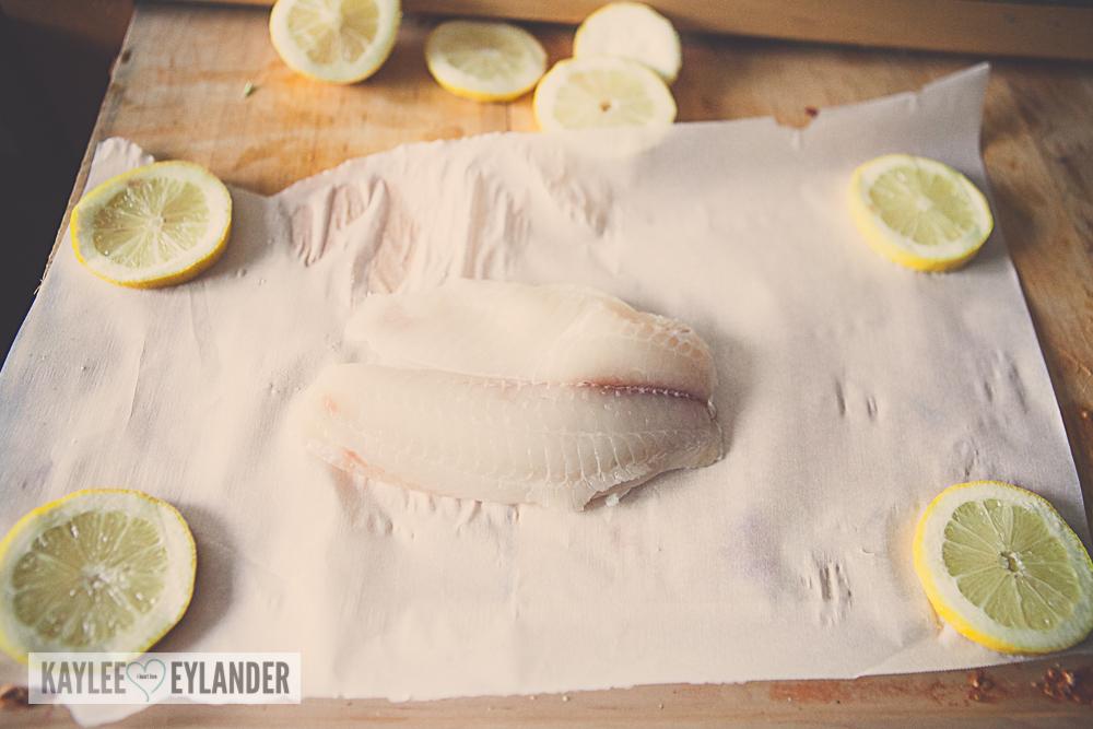Oven Baked Tilapia with Lemon & Basil-5
