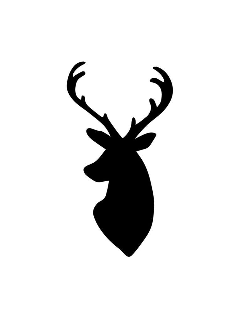 deer-head-black