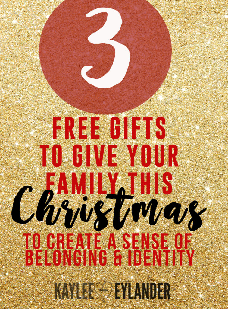 3 free gifts for your family