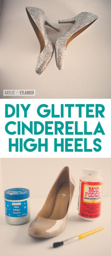 Cinderella Costume DIY Shoes