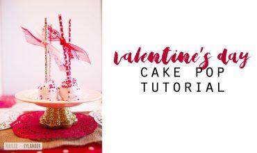 Valentine's Cake Pops | How to make cake pops
