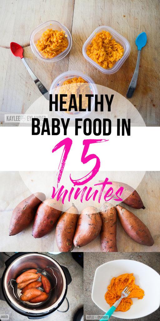 Instant Pot Baby Food