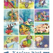 Promotional postcard for illustrators - marketing and promotion for illustrators