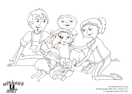 Free colouring pages, color pages for kids