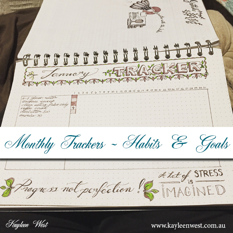 Fun ways to organize with a creative bullet journal.