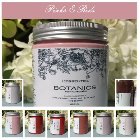 L'ESSENTIEL BOTANICS CHALK PAINT PINK RED