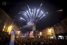 Event photographer - Kay Ransom Photography Cirencester Christmas lights switch on