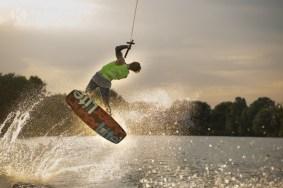 Boat Wakeboarding Sam Carne