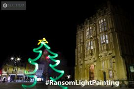 Kay Ransom Photography Christmas tree Cirencester
