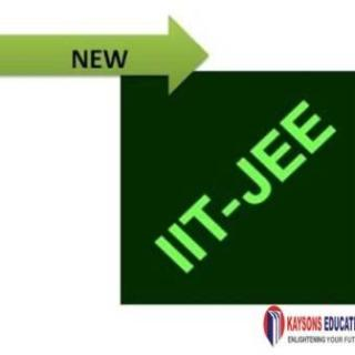 A new trend in for IIT JEE Exams