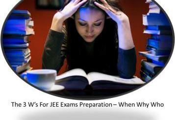 preparing for the JEE