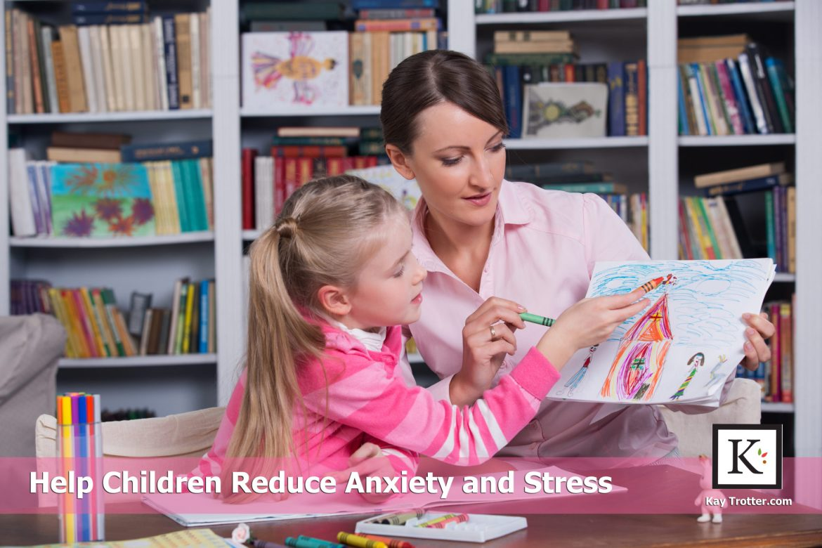 Help children reduce anxiety and stress