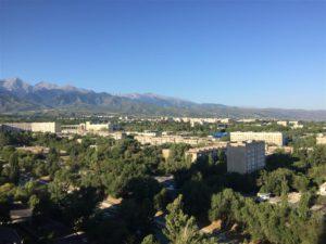 Almaty in Kazakhstan