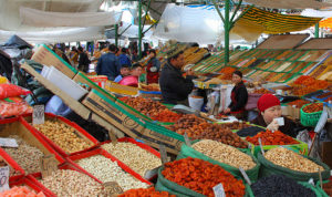 Bazar in Osh, Kyrgystan