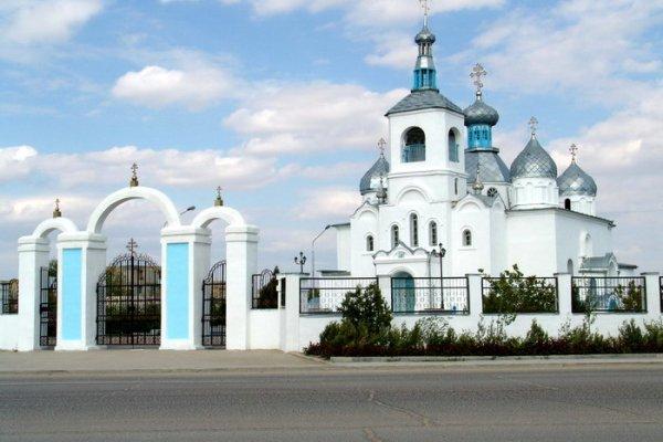 Церковь, г.Актау / Фото дня / Сервер Казах.ру