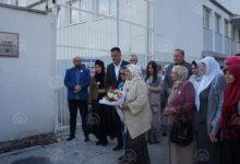 "Photo of ""Majke Srebrenice"" proučile dovu i položile cveće na Platou Hatidže Mehmedović"