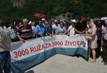 Photo of 3.000 ruža za 3.000 ubijenih Višegrađana