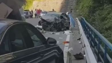 Photo of Udes na putu Podgorica-Kolašin, dvije osobe povrijeđene