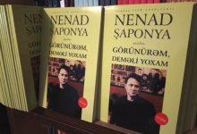 Photo of Pesnička knjiga Nenada Šaponje objavljena u Azerbejdžanu