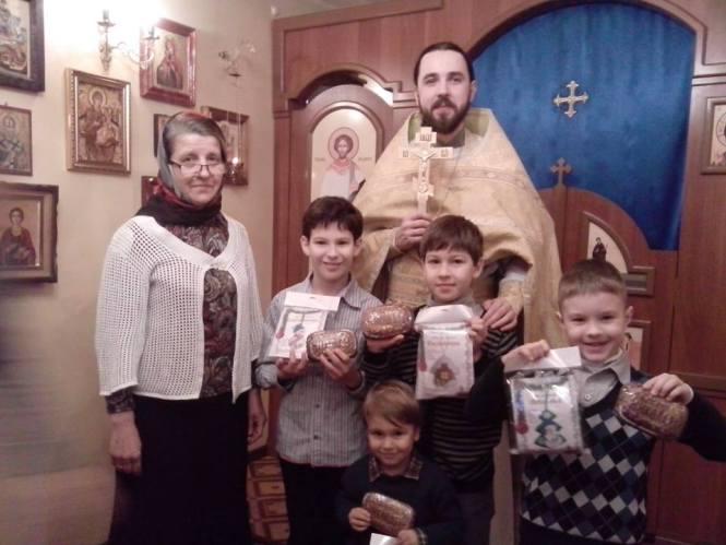 Воскресшная школа в канун Дня св. Николая