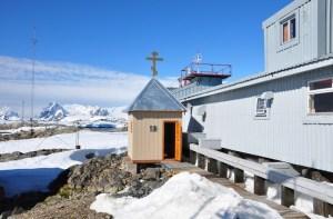 Часовня св. равноапостольного князя Владимира в Антарктиде
