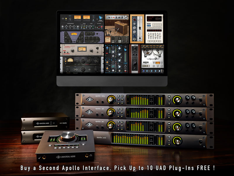 Universal Audio Apollo Interfaces available from Kazbar Systems