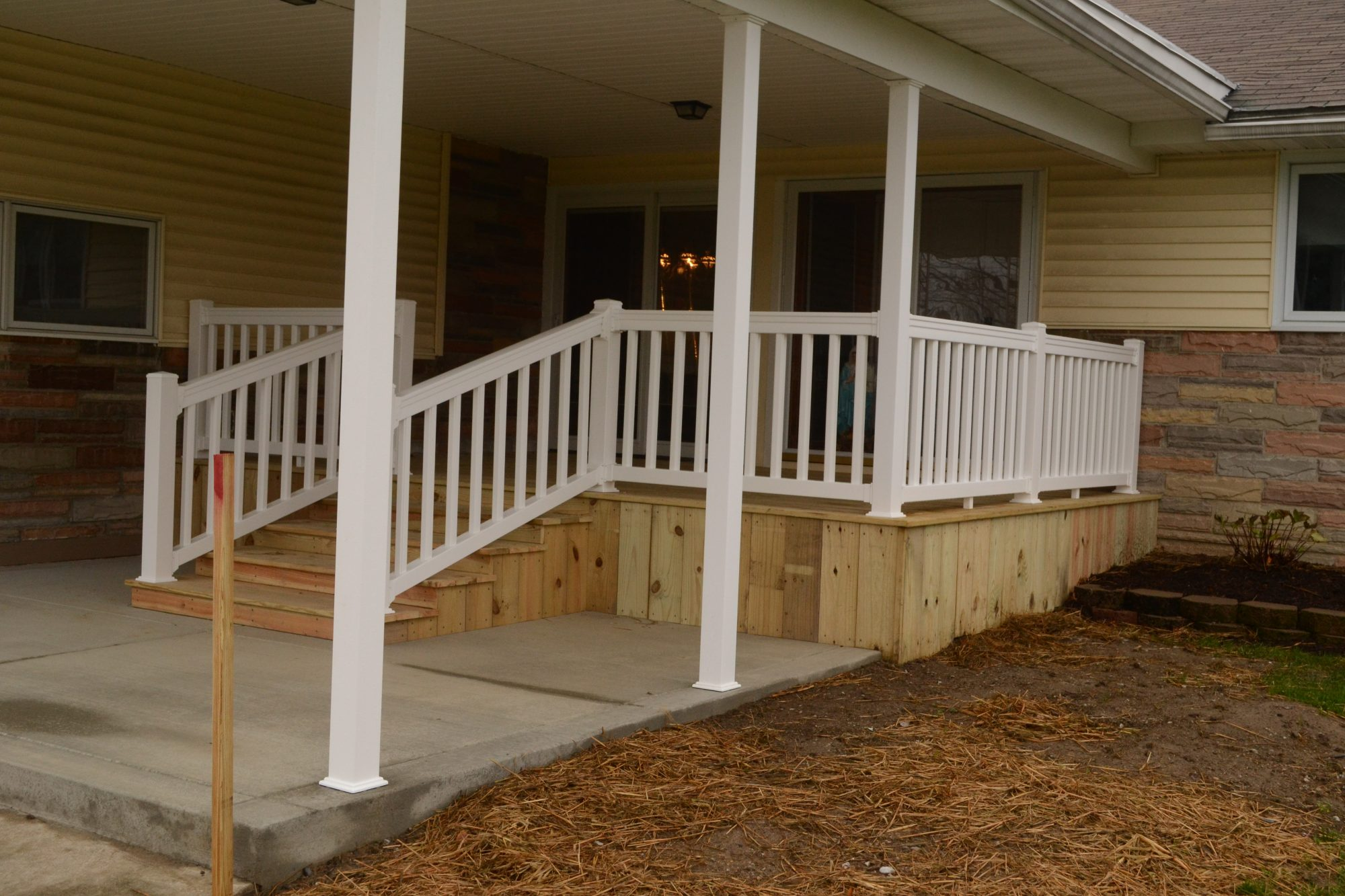 Patio Roofs, Porches, and Decks Gallery - Kaz Home ... on Patio With Deck Ideas id=61327