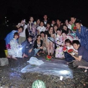 着物お出かけ会『ろーじ』VOL.3  鴨川で金魚すくい「日本の夏、キンギョーの夏」