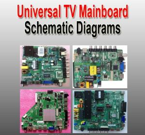 Universal LCDLED TV Controller Boards Schematic Diagrams – Kazmi Ele