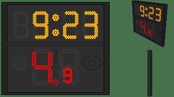 Single Side Shot Clock (FIBA 2017 Rule)