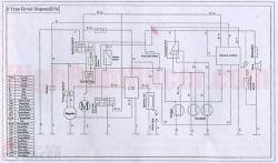 chinese 110cc atv wiring diagram wiring diagram atv wiring diagram nilza
