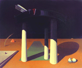 Civilizaition: classical, architectural symbolism painting, surrealism, European theme painting