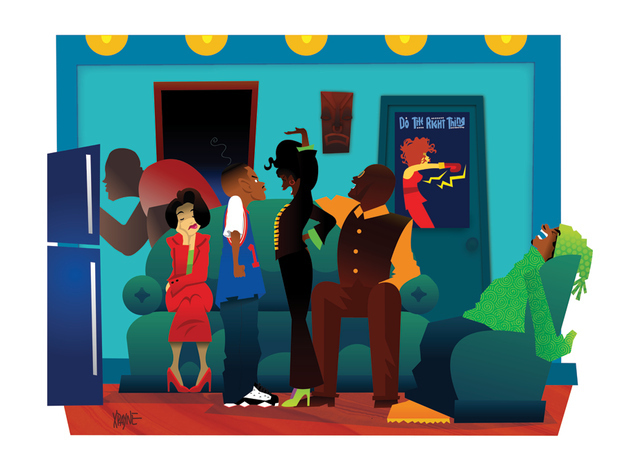 House Dope Characters Cartoon
