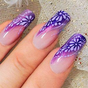Nail Art Fiore Micropittura Ideas