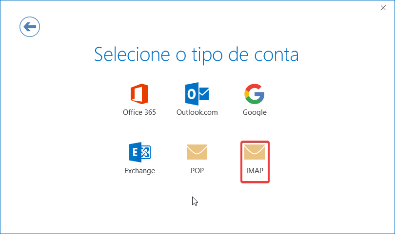Email telepac tipo conta