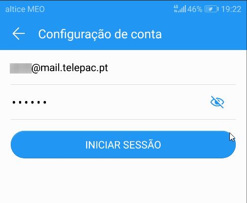 Android mail telepac pt Configuração conta