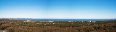 Panoramablick über Prora