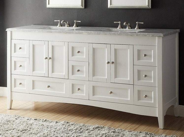 chans furniture zk 1086 kenly 72 inch white bathroom double sink vanity