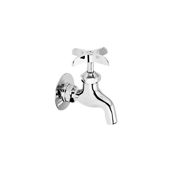 elkay lk69cp commercial service utility single hole wall mount faucet with plain