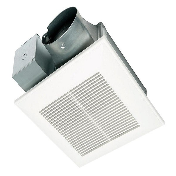 panasonic fv 0510vs1 whispervalue dc fan with ecm motor and pick a flow speed selector 50 80 or 100 cfm
