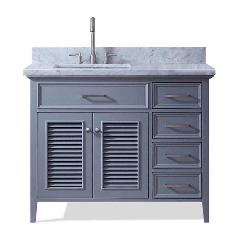 ariel d043s l vo kensington 43 inch left offset single sink vanity