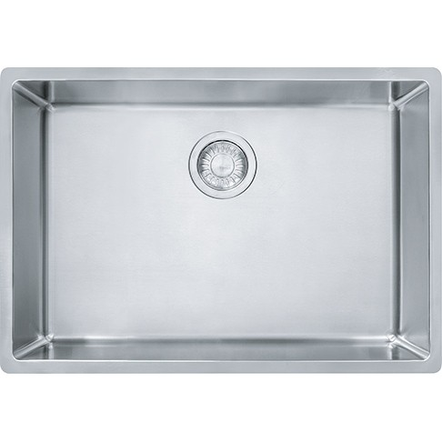 franke cux11025 cube 26 5 8 inch undermount single bowl stainless steel kitchen sink