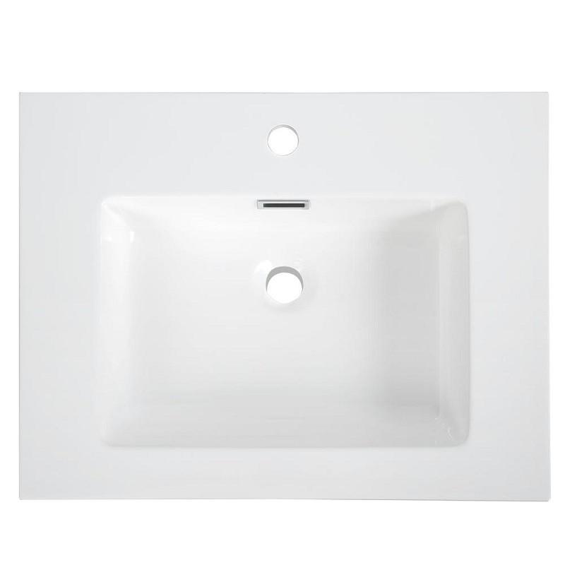 streamline k 161 slsitrc 24 24 inch solid surface resin vanity top with integral sink