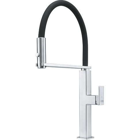 franke ffpd5550 peak semi pro 1 hole kitchen faucet